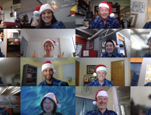 Team J. UNO Celebrates the Holiday's Virtually!