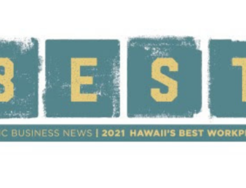 2021 Hawaii's Best Workplaces